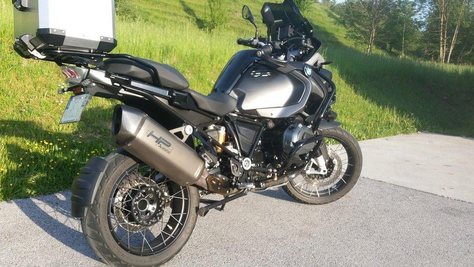 moto BMW 1200 GS vue droite