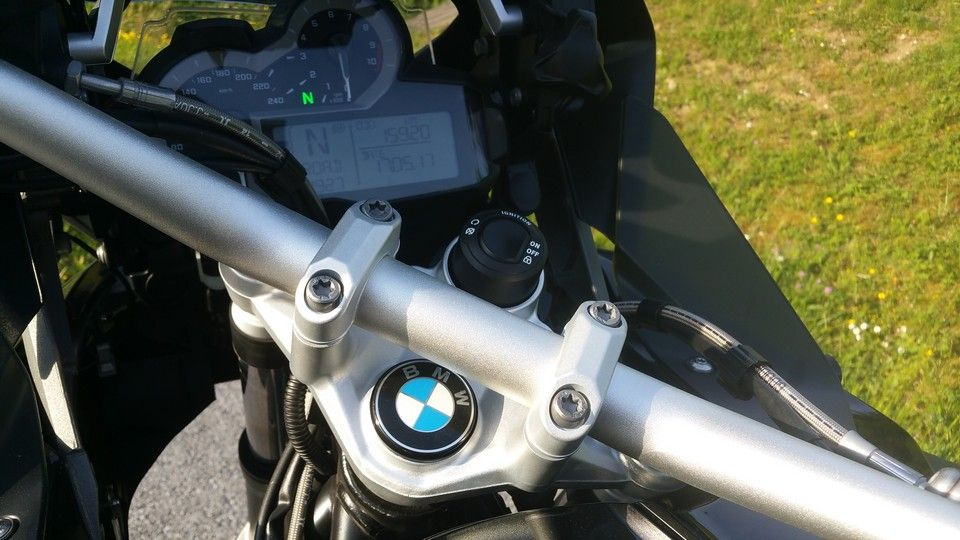 moto BMW 1200 GS keyless start