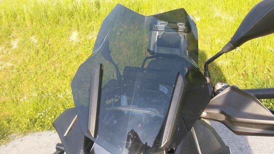 moto BMW 1200 GS bulle