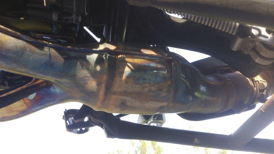 moto BMW 1200 GS échappement