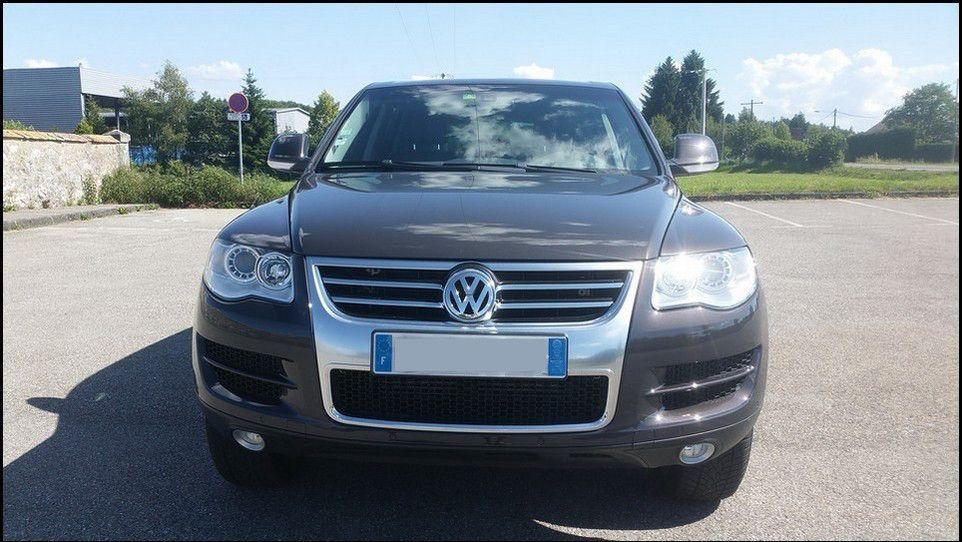 Volkswagen Touareg vue avant