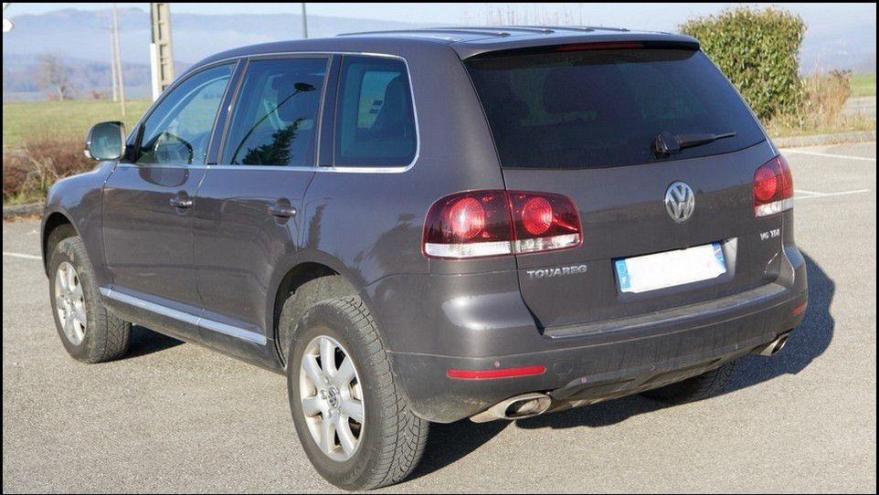 Volkswagen Touareg vue 3/4 gauche
