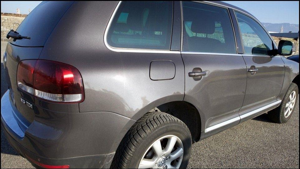 Volkswagen Touareg vue arrière droite