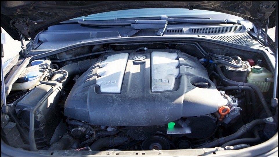 Volkswagen Touareg compartiment moteur