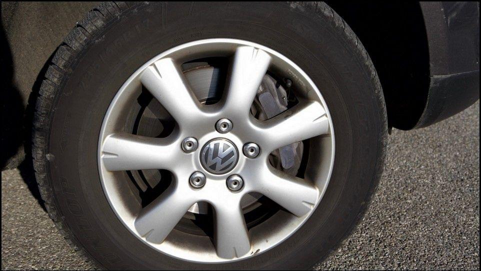 Volkswagen Touareg pneu et jante arrière droit