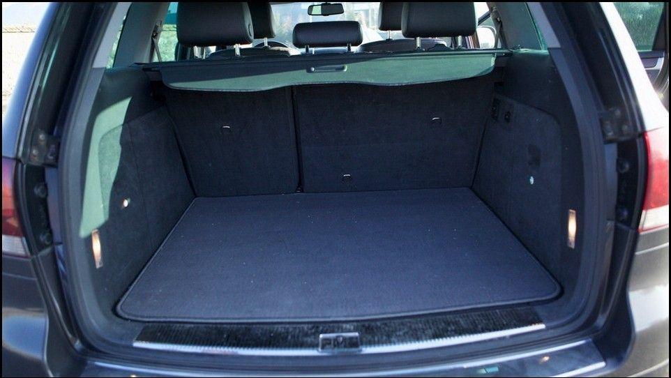 Volkswagen Touareg intérieur du coffre