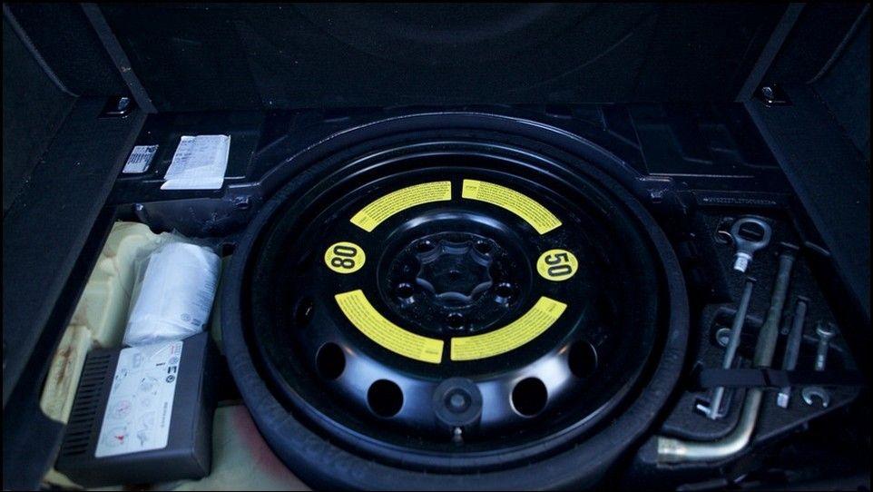 Volkswagen Touareg roue de secours