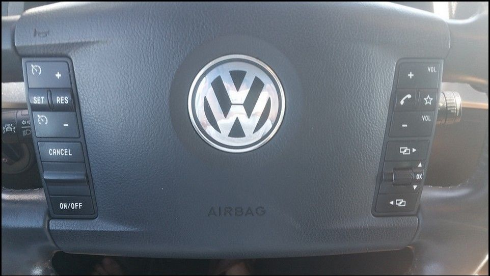 Volkswagen Touareg volant