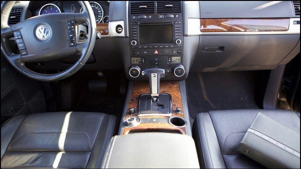 Volkswagen Touareg console centrale