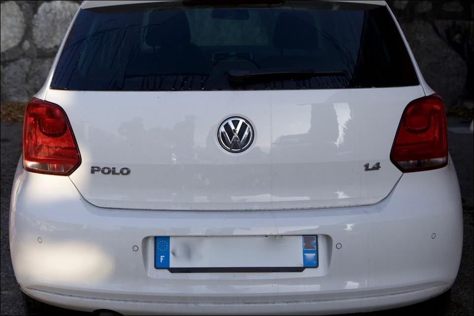 Volkswagen Polo face arrière