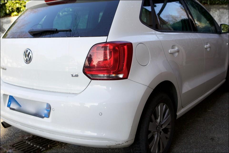 Volkswagen Polo aile arrière droite
