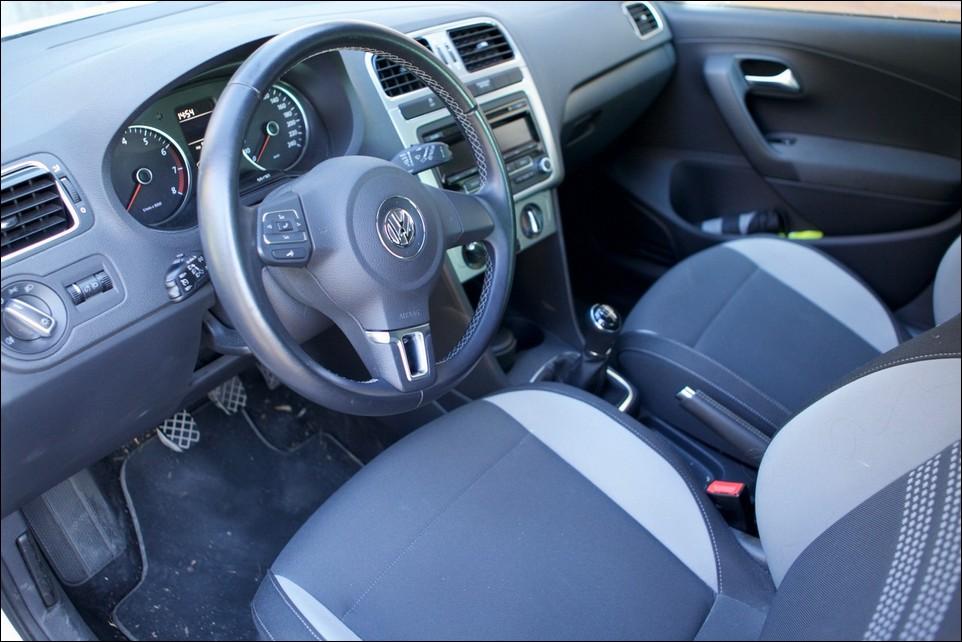 Volkswagen Polo intérieur