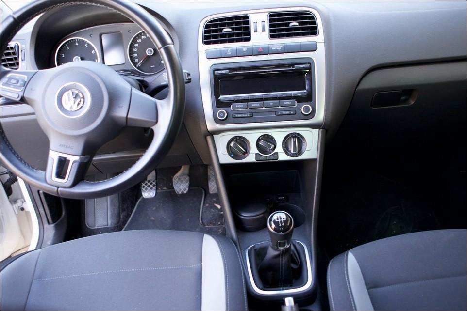 Volkswagen Polo console avant