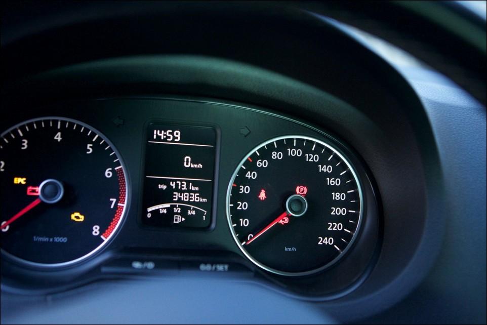 Volkswagen Polo tableau de bord