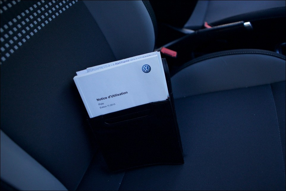 Volkswagen Polo notice utilisation